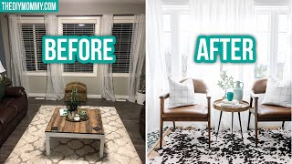 Styling My Subs' Spaces! Aleea's Modern Rustic Living Room