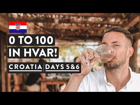 EMPTY STREETS & WINE TASTING IN HVAR ISLAND   Stari Grad   Sail Croatia Day 5 & 6 of 8