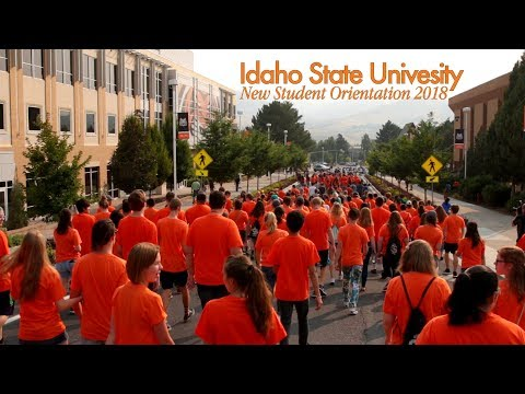 2018 New Student Orientation | Idaho State University