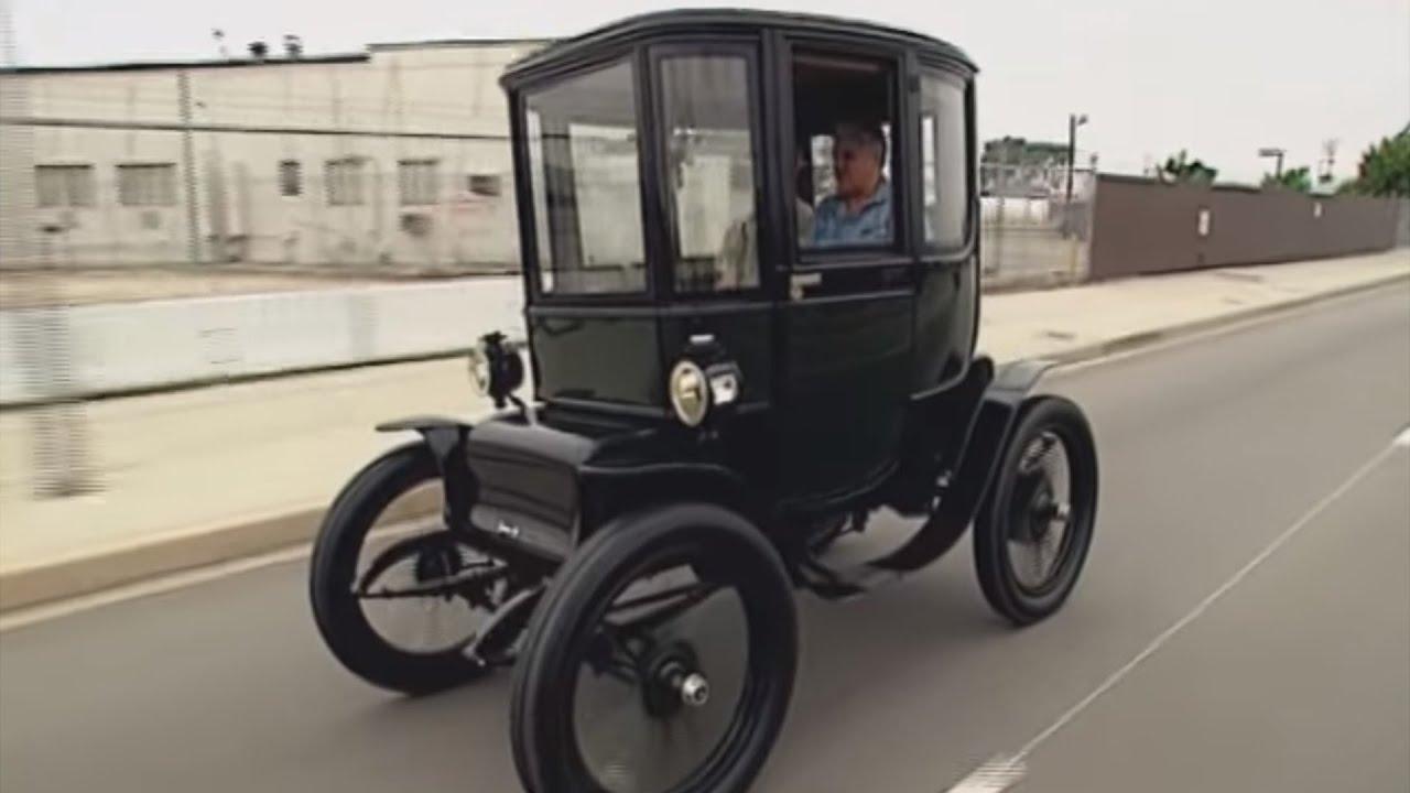 Jay Leno\'s Baker Electric Car - YouTube