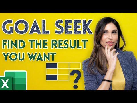 Excel Goal Seek Explained in Simple Steps