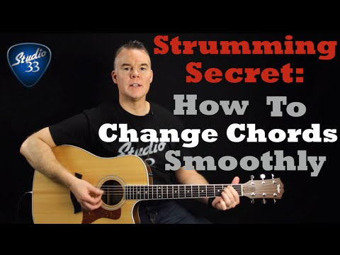 How To Change Chords Quickly And Easily Using This Technique