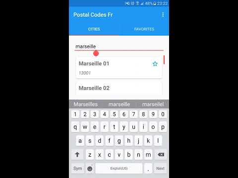 France Postal Codes For Android