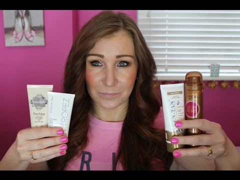 Review & Compare - Self Tanners - Face