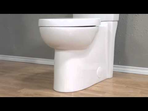 Studio Concealed Trapway Dual Flush Toilet By American