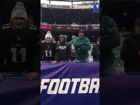 SpudCam: Philadelphia Eagles vs. New York Giants