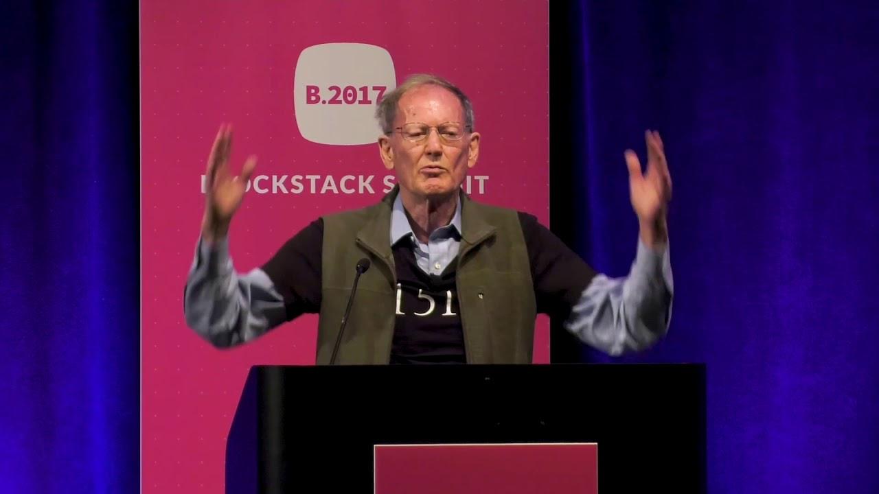 "George Gilder ""Life After Google""   Blockstack Summit 2017 - YouTube"