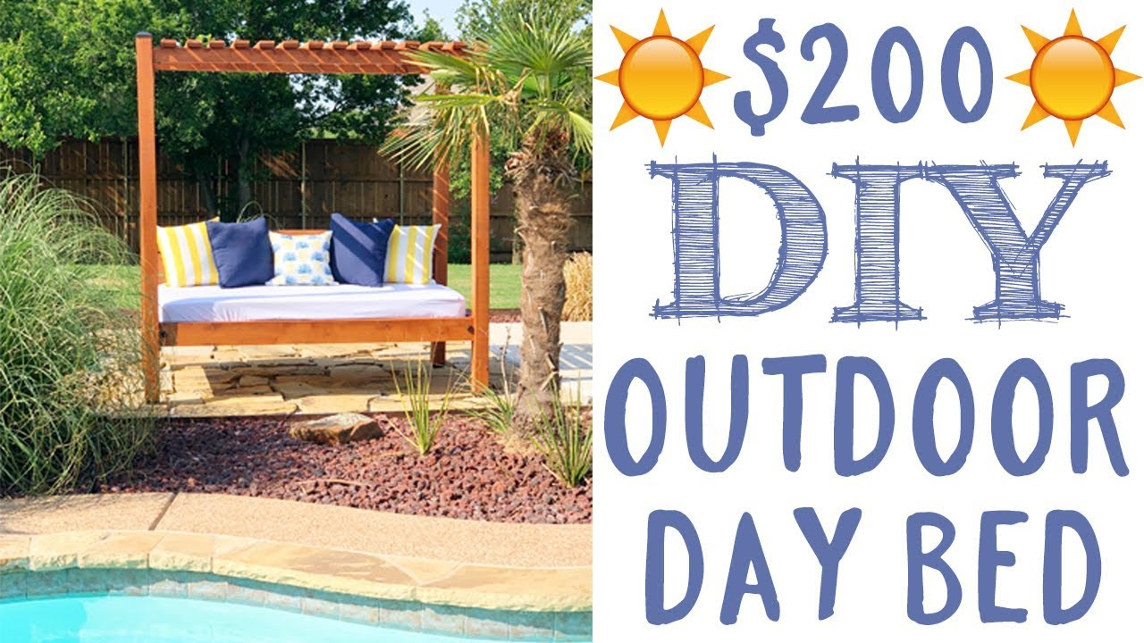 - DIY Outdoor Day Bed - YouTube