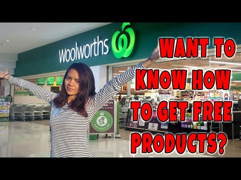 HOW TO GET FREE PRODUCTS FROM WOOLWORTHS | PINAY IN AUSTRALIA