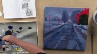 Preview | Paint Acrylic Landscapes: Understanding Limited Values with Mark Mehaffey