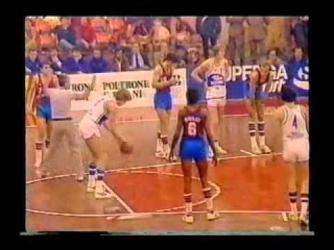 Cantù vs Barcelona (Finale Coppa Coppe 1981)