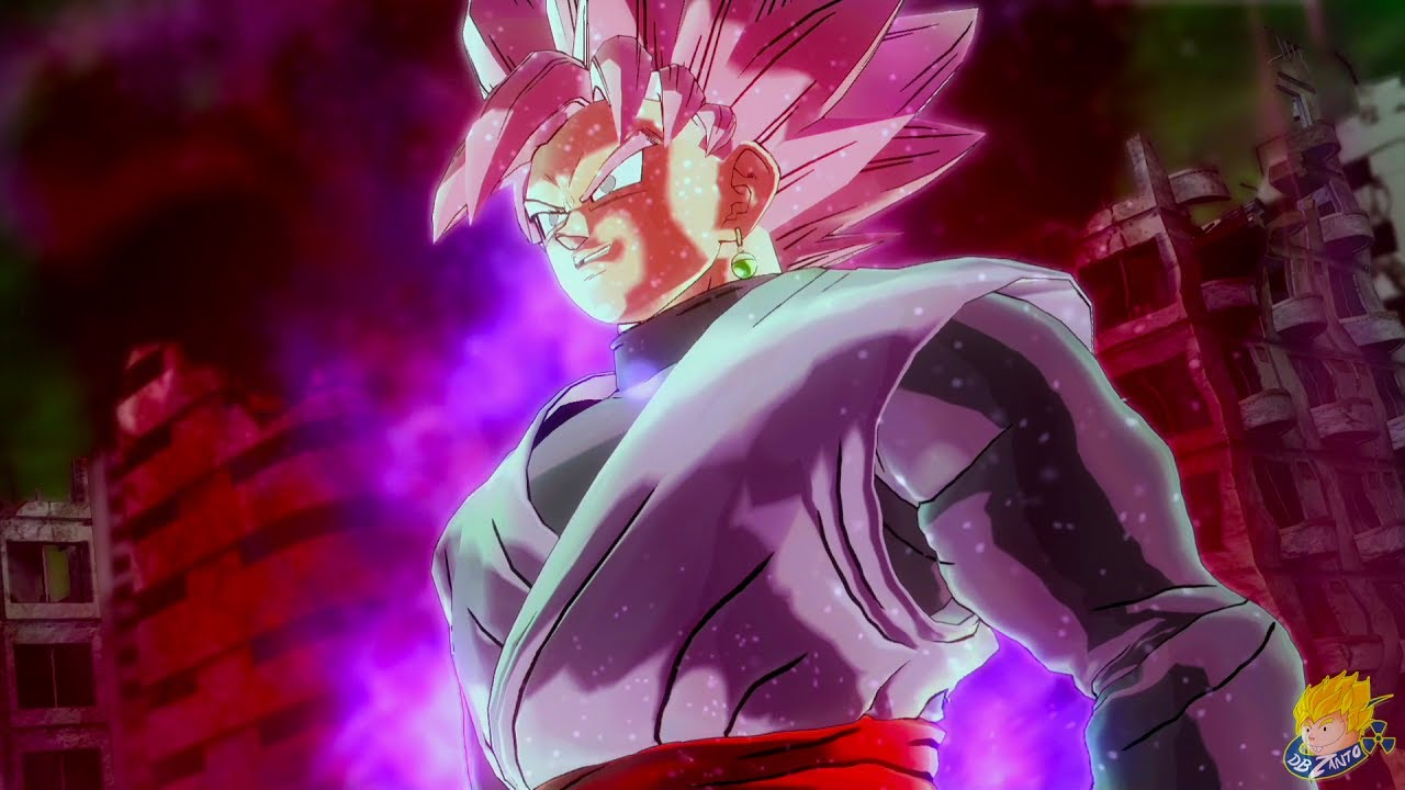 Download Dragon Ball Xenoverse 2: Story Mode - SUPER SAIYAN ROSE GOKU BLACK TRANSFORMATION【60FPS 1080P】