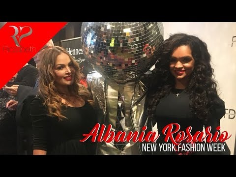 New York Fashion week | Albania Rosario | Fashion Designer of Latin America