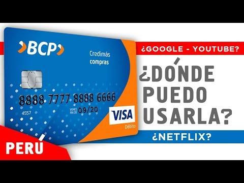 Tarjeta de debito del BCP ¿dónde puedo usarla?