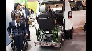 Юнимобиль (авто для инвалидов) SkyWay - внешний вид и особенности / Обзор на выставке ИНВАЭКСПО 2018