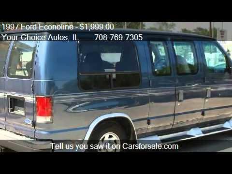 1997 Ford Econoline E150 Passenger Van