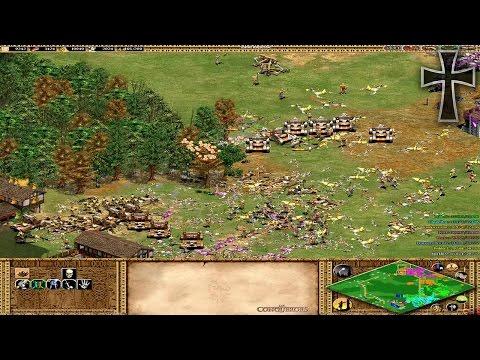 Age of Empires II - 138ª Partida Multijugador En Línea - Julia, Iván, Tulio y Fede
