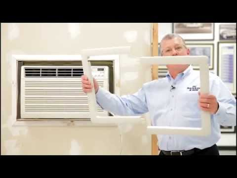 Air Conditioners Pre Existing Sleeve Installation Youtube