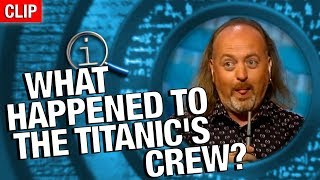 QI | What Happened To Titanic's Crew?