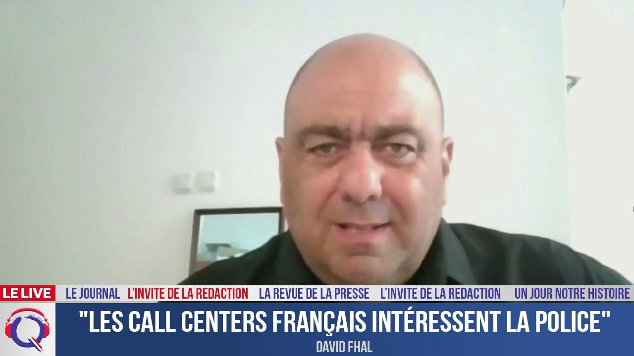 """""""Les call centers français intéressent la police» - L'invité du 11 juillet 2021"""