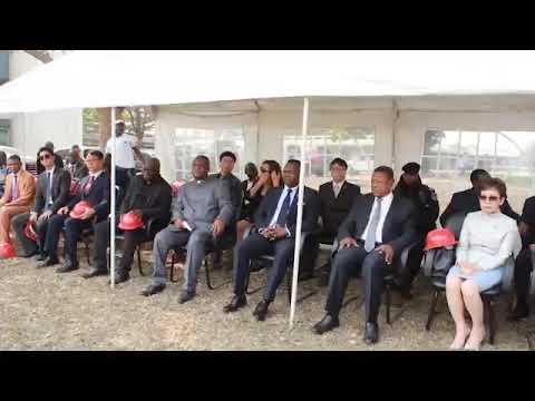 DR Congo  KJ Lee RTNC TV Solar Energy
