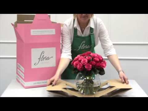 Цветы с доставкой в коробках