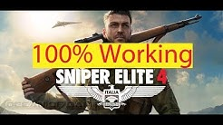 How to Download Sniper elite 4 100% Working Full cracked| YouTube