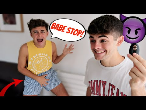 VIBRATING UNDERWEAR PRANK ON BOYFRIEND! (Gay Couple Pranks)