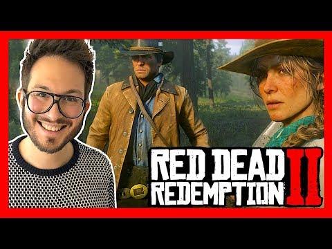 Red Dead Redemption 2, manette en mains sur PS4 Pro, c'est FOU !!! (avec Maxime Chao)