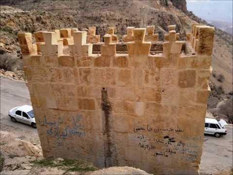 Sarpol-e Zahab before the earthquake, 7.2 magnitude near , Zagros Mountains, Iran  travel, hills,