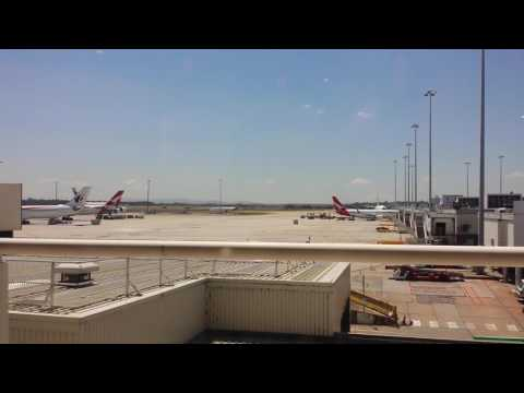 Melbourne airport inside view