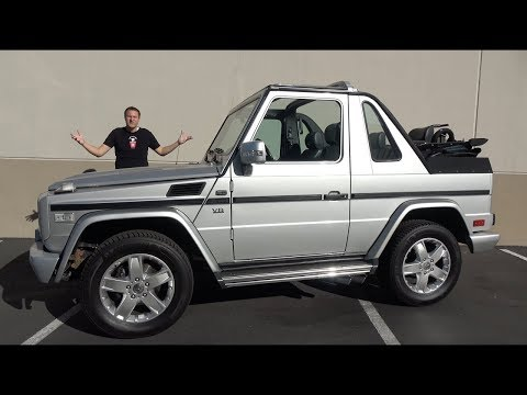 Я купил Mercedes-Benz G500 кабриолет!