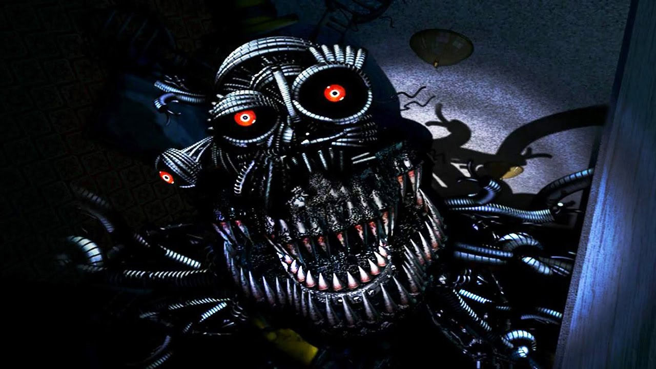 Ennard Nightmare Suit Fnaf 4 Youtube