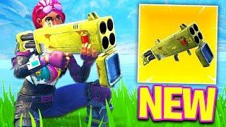 NEW FORTNITE ROCKET GUN COOL !!!!!