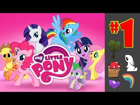 MLP 01 My Little Pony: Harmony Quest - Magical Adventure Kids Games by Budge Studios