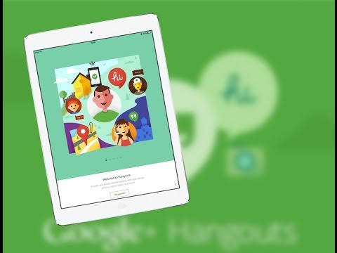 Google Hangouts 2.0 For IPad And IPhone - Overview