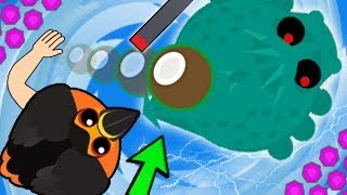 Mope.io TOUCAN KILLS SEA MONSTER! NEW UPDATE RARE FIRE TOUCAN TROLLING & MONSTERS (Mope.io Gameplay)