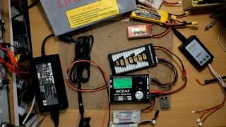 Koptérové základy - nabíjení a nabíječky