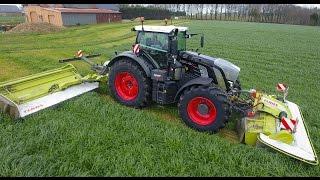 FENDT 930 S4 BlackBeauty for MOWING GRASS