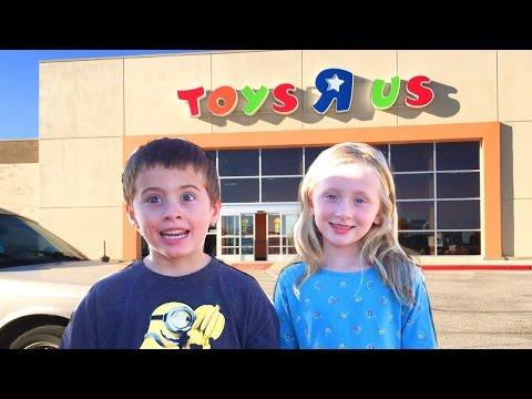 Giant Surprise Egg Toys R Us Shopping Spree Mega Toy Haul