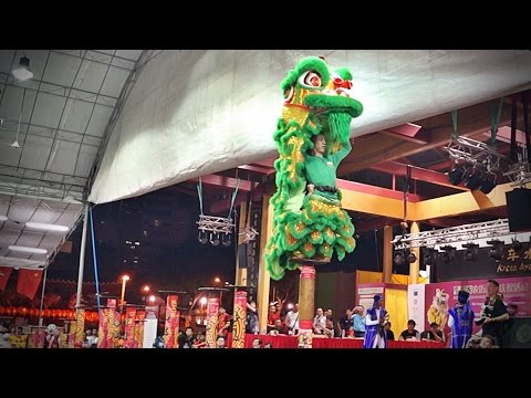2015 Lion Dance Competition - 緬甸舞龍獅總會