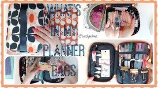 What's In My Planner Bags | ORLA KIELY TARGET PLANNER SUPPLIES ORGANIZATION