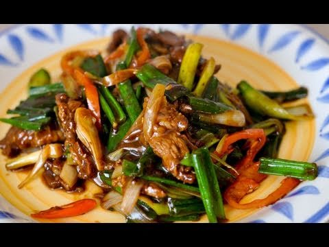 Recipe for Mongolian Beef / World of Flavor