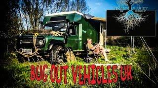 land rover campervan bug out vehicle