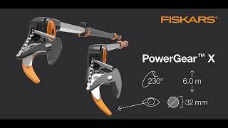 FISKARS 1023624 PowerGear UPX 86 Yüksek Dal Budama Makası