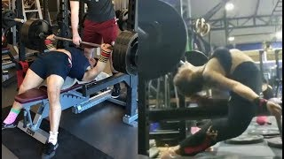 When Powerlifting Becomes Stretching & More
