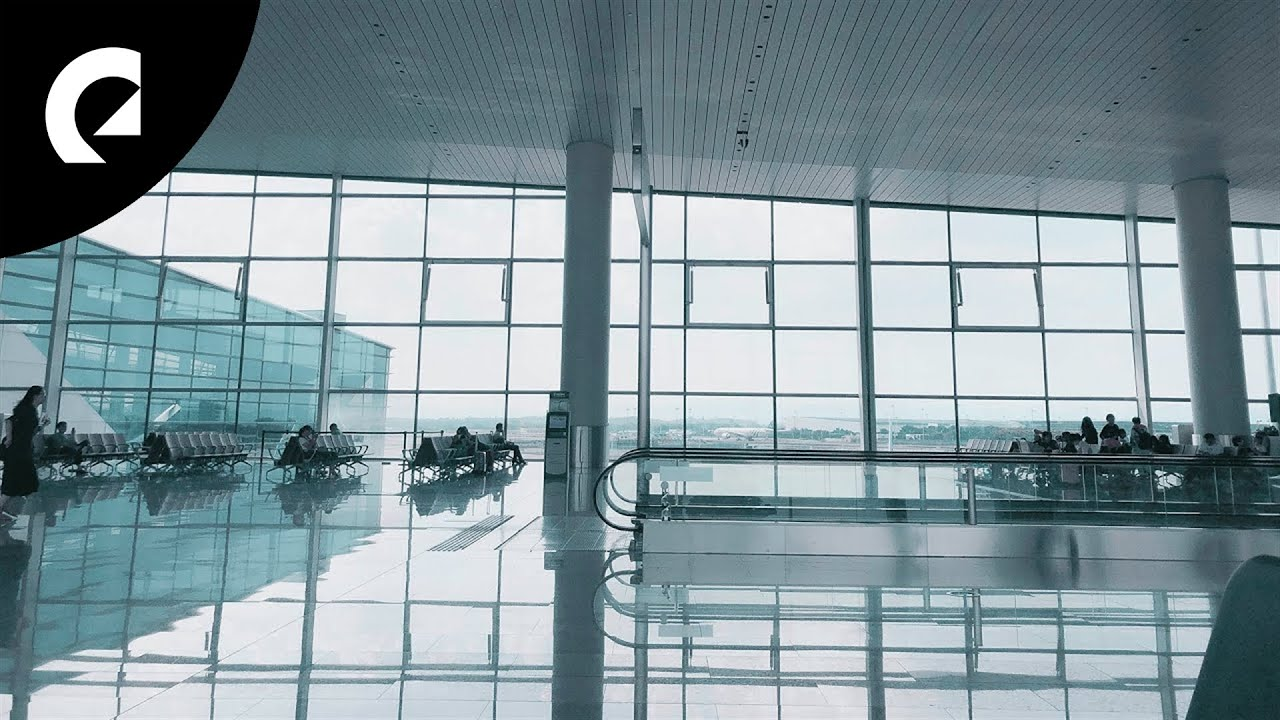 2 Hours of Large Airport Ambience  🛬🧳 Crowd, Luggage, Background Noise