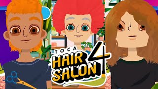 Toca Hair Salon 4 Part 1 - Lily & Dad (Smart Apps for Kids)