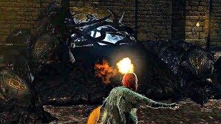 Demon's Souls - Phalanx Boss Fight (4k 60fps)