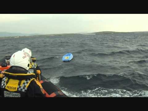 SAR skills training on location with the Irish Coast Guard.wmv